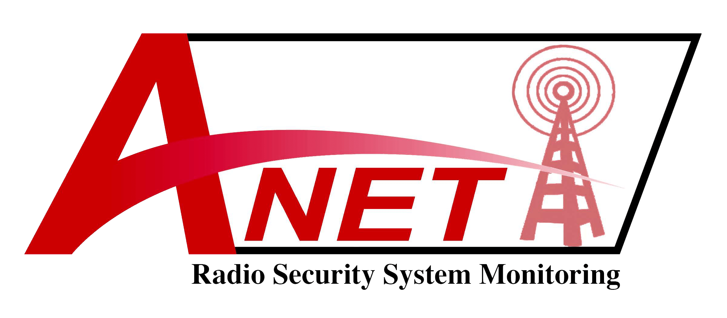 ANET logo radio security system monitoring