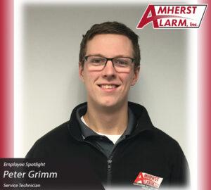 Peter Grimm Amherst Alarm Employee Spotlight Service Department