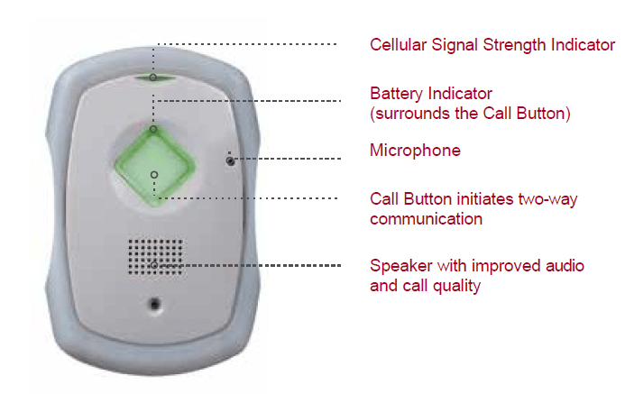 mobile pers mPERS personal emergency response system key features